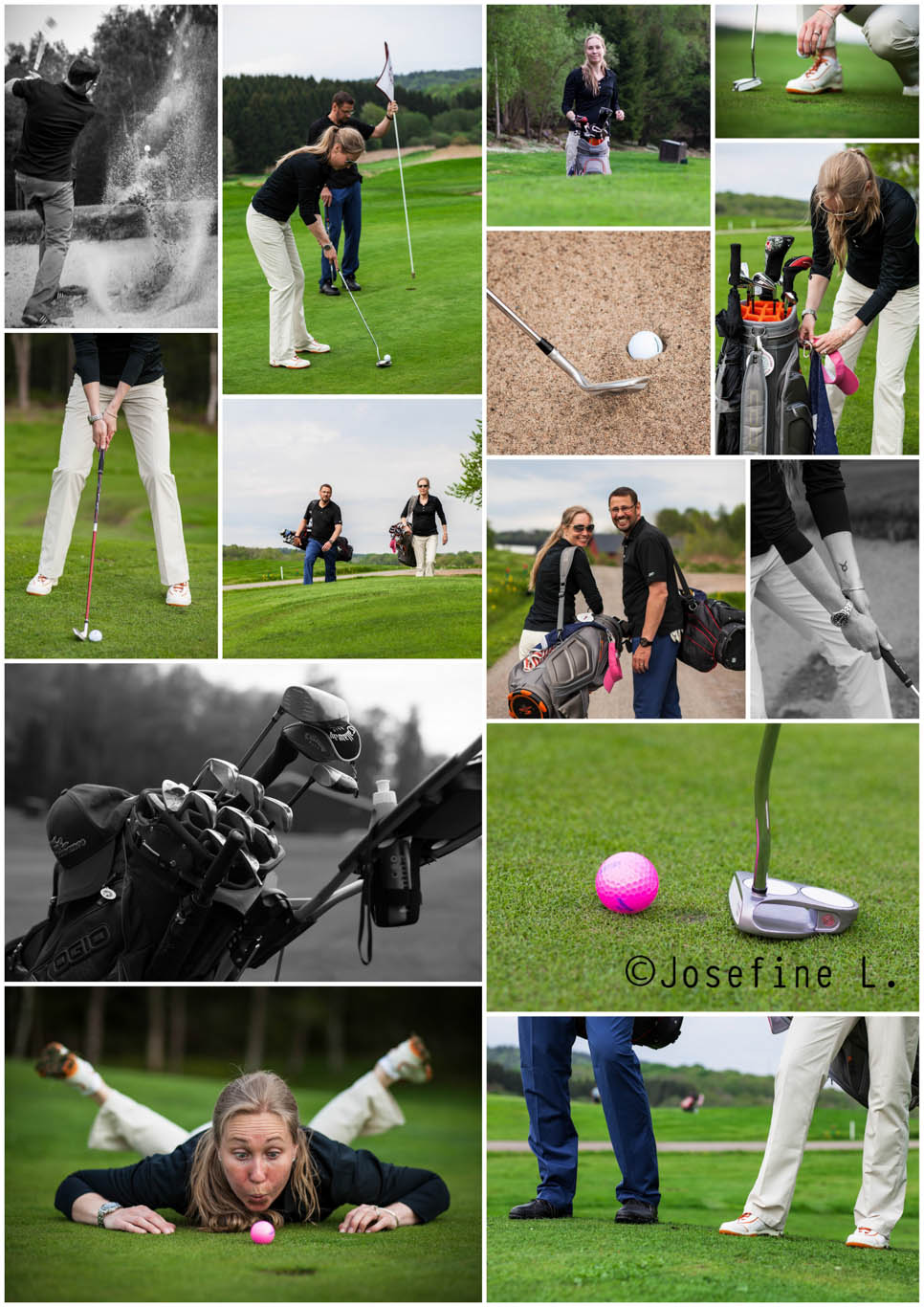 GOLFcollage